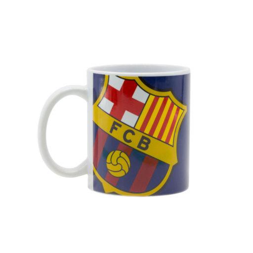 Authentic FCB Black Crest In Gift Box FC Barcelona Mug